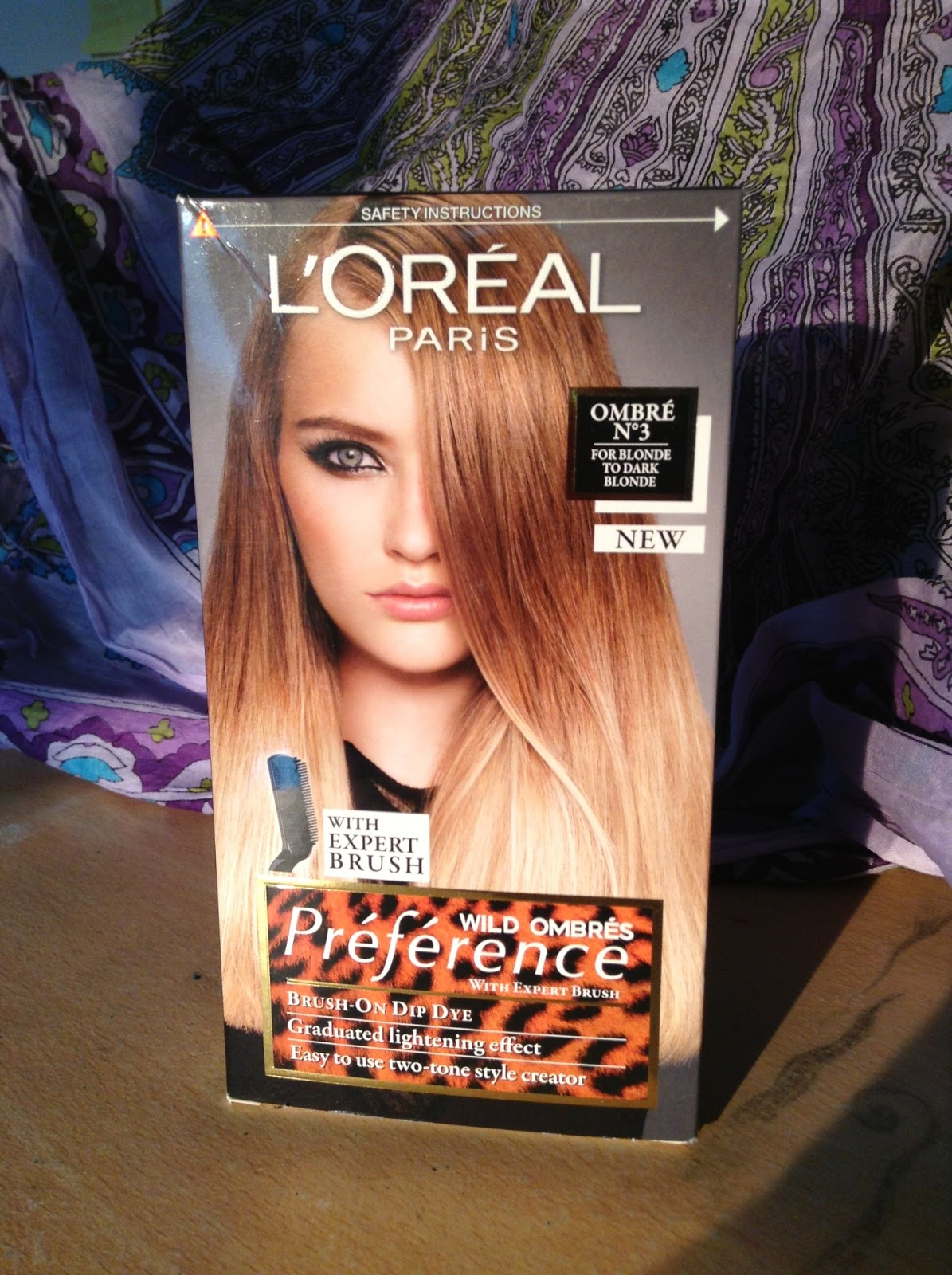 Loreal Ombre On Dyed Hair Pretty Fleeting Moments L 39; Oreal Preference Wild Ombre